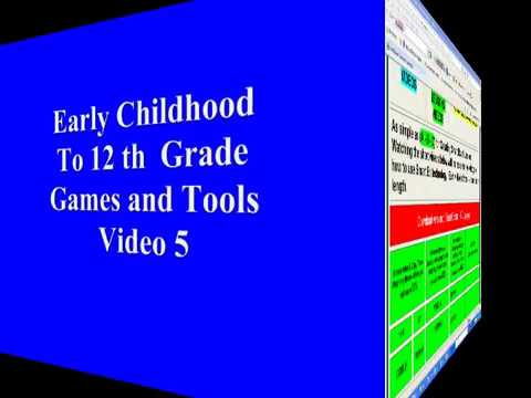 Video 5 Early Childhood to 12th Grade Games1