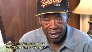 "Ollen Hunt - WWII ""Buffalo Soldier"""