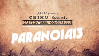 gAZAh prezinta: Crimu - Open Mic (Instrumental Tetha)