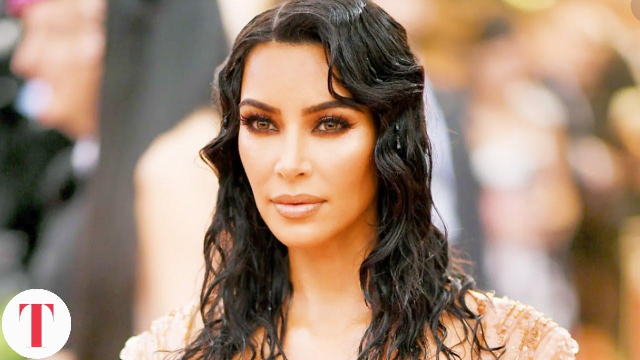 Kim Kardashian's Wet Look Met Gala Dress Was Her Most Important Fashion Statement