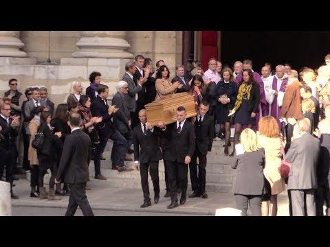 Invites aux obseques de Jean Rochefort a Paris