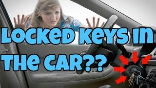 Tricks to Unlocking a Power Door When You Lock the Keys In : Car Repair Tips