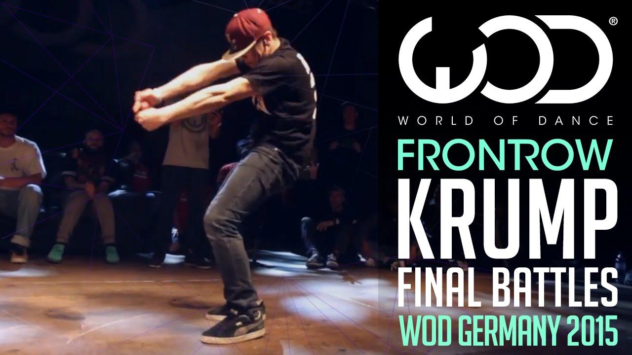 Krump Final Battle | FRONTROW | World of Dance Germany Qualifier ...