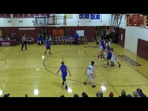 Hermon Varsity Boys vs Orono High School Highlights
