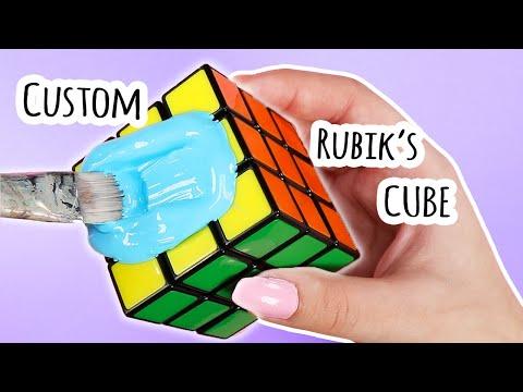 Customizing a Rubik's Cube