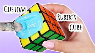 Customizing a Rubik's Cube