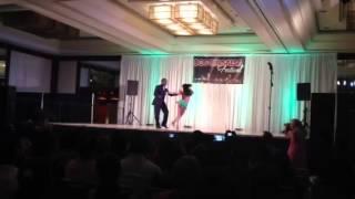 Bachata Performance by Anya and Junior.