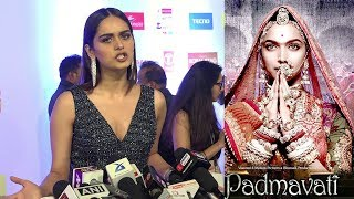 Miss World Manushi Chillar's Reply On Padmavati's NEGATIVE Review By Swara Bhaskar