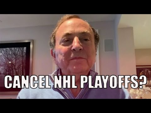 My Take On CANCELLING The 2020 NHL Playoffs (RANT)