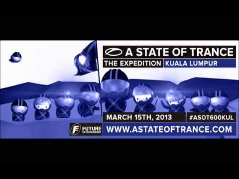 Cosmic Gate #ASOT600: The Expedition - Live from Kuala Lumpur, Malaysia (15.03.2013)