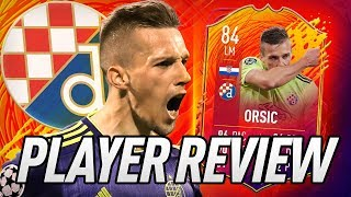 tHIS CARD IS UNBELIEVABLE!  84 HEADLINER ORSIC PLAYER REVIEW! - FIFA 20 Ultimate Team