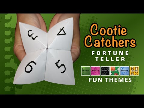 Cootie Catchers Updated