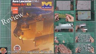 HK Models 1/32 Lancaster Nose Kit Review