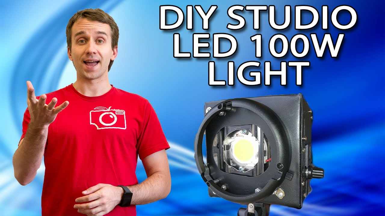 DIY Led 100W Studio light - YouTube