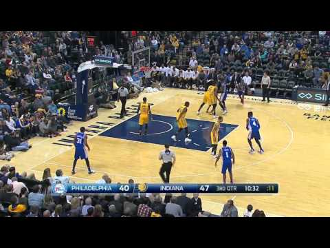 Philadelphia 76ers vs Indiana Pacers | March 21, 2016 | NBA 2015-16 Season