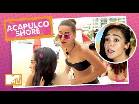 Tália provoca Mane e ela responde à altura   MTV Acapulco Shore T1 indir