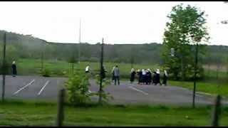 Nuns playing basketball! / Siostry zakonne grają w kosza.