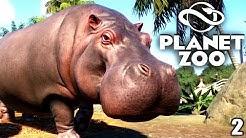 PLANET ZOO Beta - 2 - Flußpferde & Baby Schildkröten | Planet Zoo Deutsch ► Franchise Mode