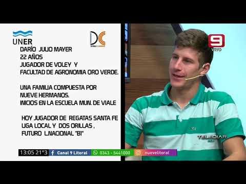 Entrevista con Julio, estudiante y jugador de voley