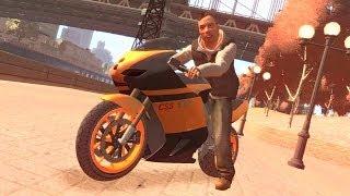 GTA 4 - EPIC Bike Stunt - Helicopter Jump