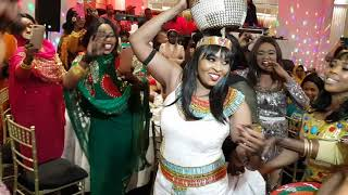 Nubian Queen Rita henna party 2