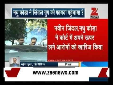 Madhu Koda illegally benefited Navin Jindal's company, says CBI