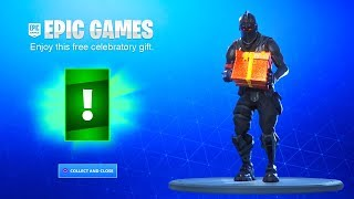 Open Your FREE GIFT in Fortnite NOW! (EPIC GAMES GIFT)