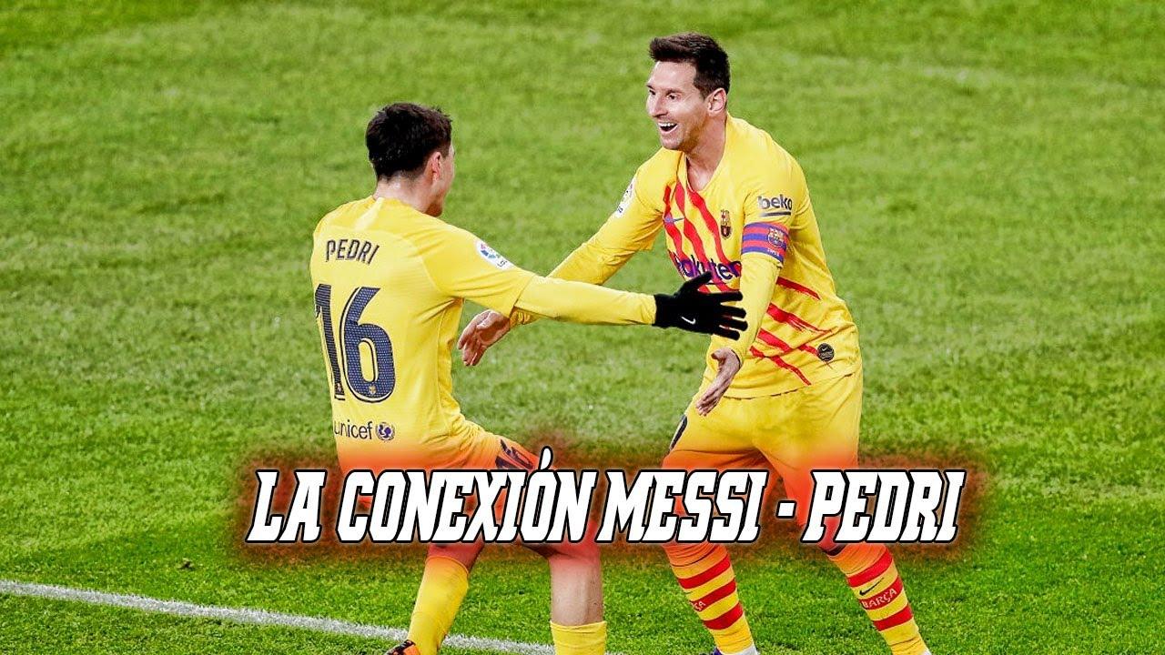 La conexión Messi - Pedri da los tres puntos al Barça