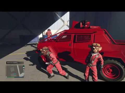 Space Monkey Gang 4L/ Gta5 Funny Moment