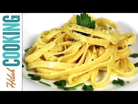 How to Make Fettuccine Alfredo  Hilah Cooking