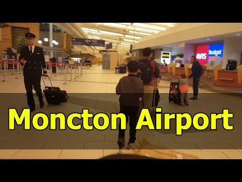 Pinoy Immigrant At Moncton Airport, New Brunswick, Canada