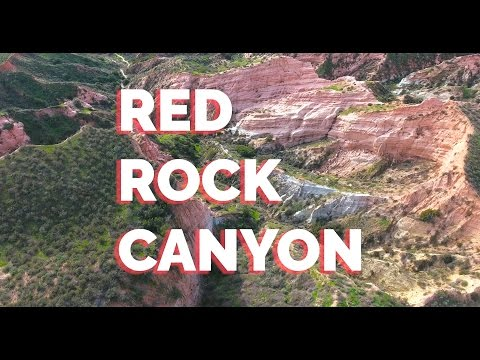 RED ROCK CANYON at Whiting Ranch Wilderness Park