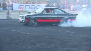 9 Second Mazda R100 Burnout at the NAC Skid Kings