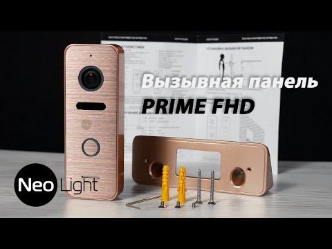 Вызывная панель NeoLight Prime FHD (Pro) с мультиформатной профессиональной камерой