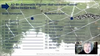A2-B1 Wortschatz Synonyme Antonyme  Üb. 06 S.02 Wasserwächte