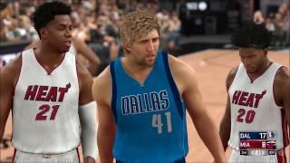 NBA 2K17 - Dallas Mavericks vs Miami Heat | Gameplay (PC HD) [1080p60FPS]