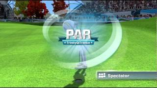 Kinect Sports Season 2 Golf 9 hole online match Xbox 360 Xbox Live 720P gameplay