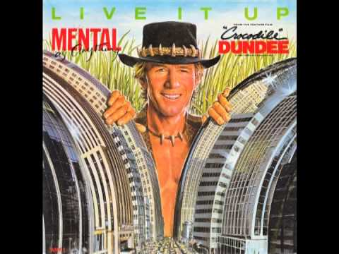 """Mental As Anything – """"Live It Up"""" (UK Epic) 1987"""