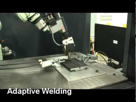 Adaptive Arc Welding with Part & Weld Inspection - Kawasaki Robotics