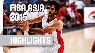 Iran v Japan - Bronze Medal Game - Highlights - 2015 FIBA Asia Championship