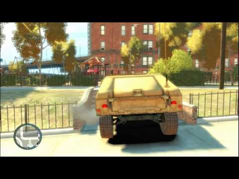 Grand Theft Auto IV - Military Vehicles
