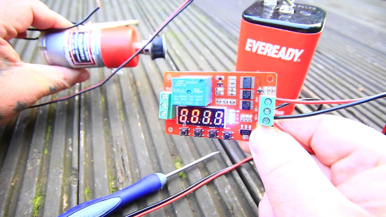 Wiring A 12v Timer Relay Simple Diagram Circuit Of Delay Need I Help From You Youtube Starter