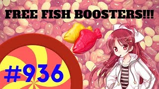 Gameplay! Candy Crush Soda Level 936 - FREE FISH BOOSTERS