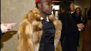 Troy Ave Showed Up To Court With A Bullet Proof Vest Under A Full Length Mink
