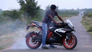 KTM RC 200 Stunts by Ayub Shaik