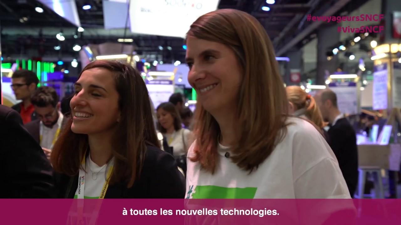 VivaTech : e-voyageurs SNCF, 1000 profils IT au service des mobilités