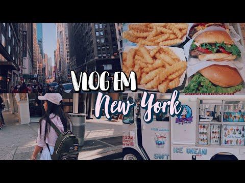 VLOG EM NYC - ep 1  Nathália Jackeline