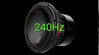 Tone Frequency 250hz  Test Your Hearing! Speakers/Headphones