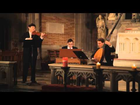 "Biber: The Crucifixion, from the Mystery ""Rosary Sonatas"" - The Sebastians: Daniel S. Lee, violin"