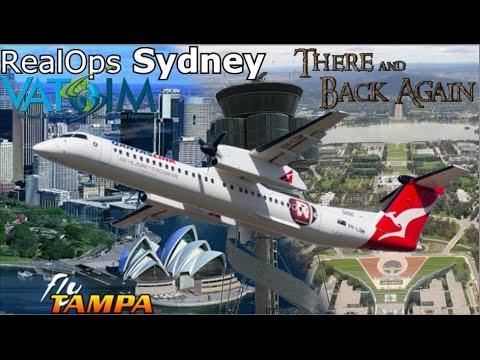 Vatsim Sydney Realops FlyTampa YSSY Back2Back